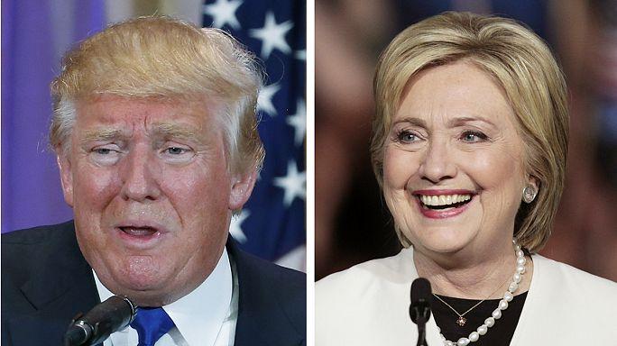 Donald Trump presque désigné, Hillary Clinton prend l'avantage
