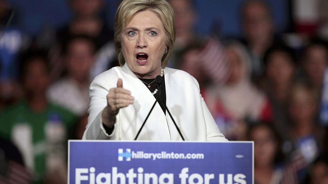 Demokratische Favoritin Hillary Clinton will Wählerschaft einen