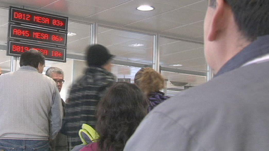 El paro aumenta en España por primera vez en dos años un mes de febrero