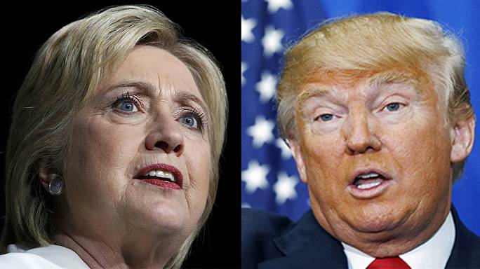"""Эксперт: """"на финишной прямой Клинтон и Трампа могут ждать """"бои без правил"""""""
