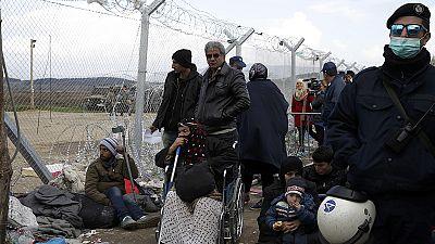 Grécia desespera com o fluxo migratório