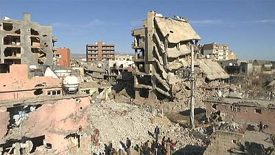 Residents return to ruined Turkish city of Cizre after partial lifting of curfew