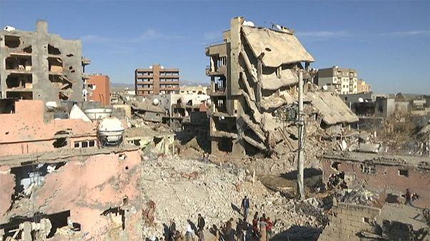 کاهش ساعات حکومت نظامی در شهر جیزره ترکیه و بازگشت ساکنان