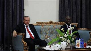 Turkish President Erdogan visits Ghana