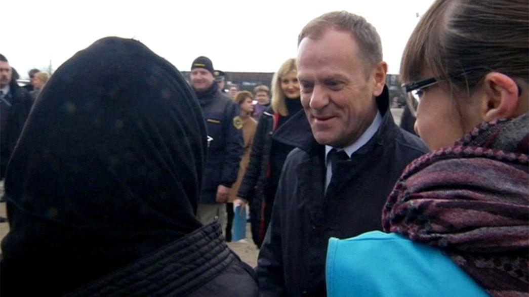Tusk defiende las reglas de Schengen para solucionar la crisis de refugiados