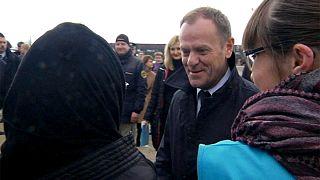 Tusk sucht gemeinsame Lösung in der Flüchtlingskrise