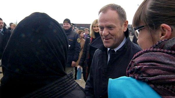 Туск согласовывает проезд беженцев из Греции по ЕС