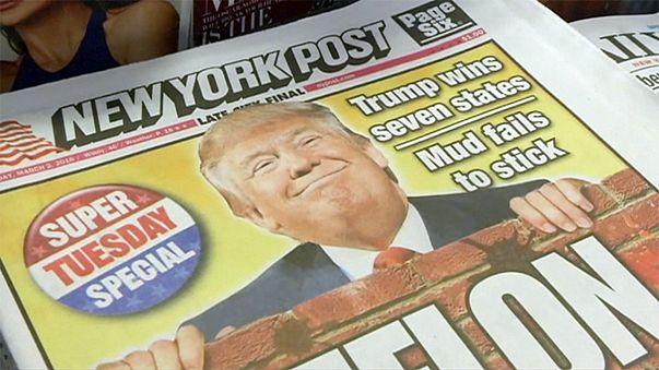 المكاسب التي حققها ترامب وكلينتون يوم الثلاثاء الكبير لم تجد لها صدى طيبا في نيويورك