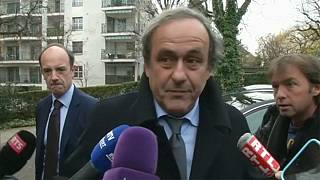 Platini enters last chance saloon to overturn FIFA ban