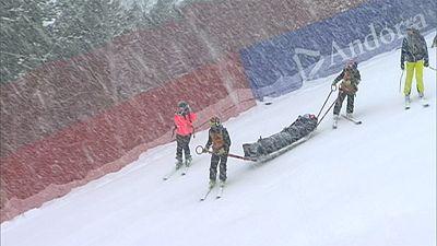 Lindsey Vonn dice adiós a la temporada por su caída en Andorra