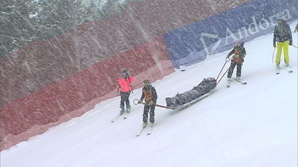 Wegen Verletzung: Lindsey Vonn beendet Ski-Saison vorzeitig