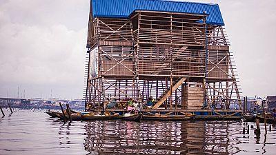 Nigeria: une école flottante pour des enfants des communautés lacustres