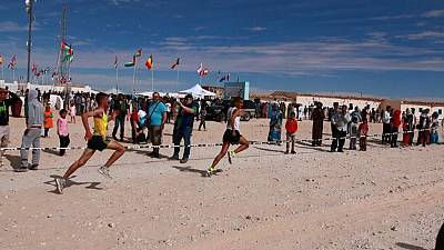 16th Sahara Marathon in support of Sahrawi held in Algeria
