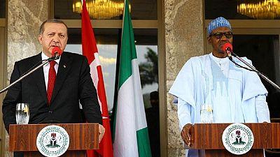 Turkey's Erdogan pledges to support Nigeria in anti-terror war