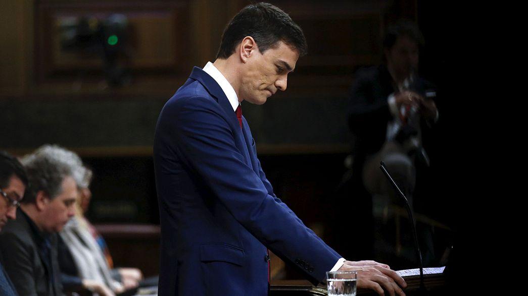 Pedro Sánchez pierde la primera votación de la investidura