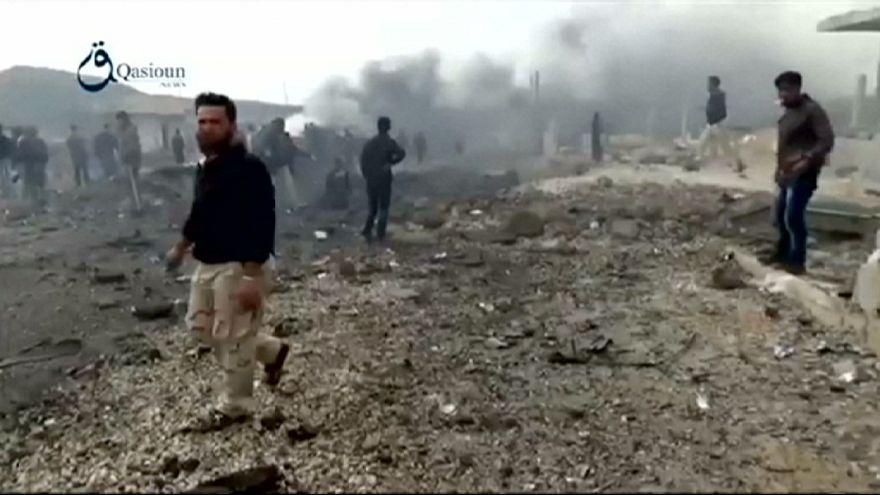 Car bombing against Syrian rebels kills 18, says monitor