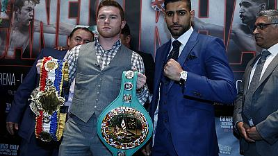 Khan and Alvarez ready for Las Vegas bout