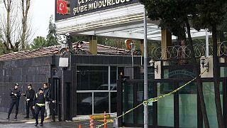 هجوم مسلح على مركز للشرطة في اسطنبول