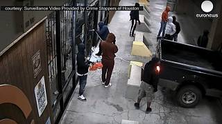 Video: Gang steals 50 guns from firearm shop in 2 minutes