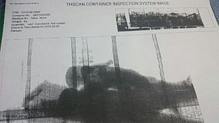 Iran customs X-ray discovers stowaways at Turkish border