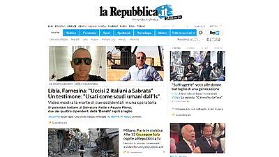 Fusión de las casas madres de los diarios 'La Reppublica' y 'La Stampa' en Italia