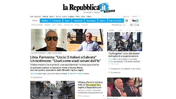 İtalya'da La Stampa ile La Repubblica ortaklığı
