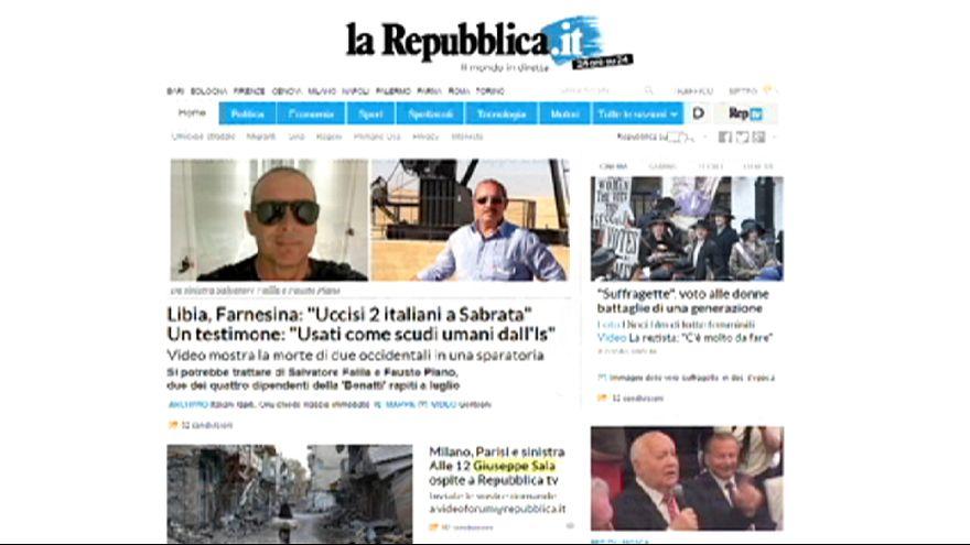 Pressekonzentration in Italien: Fiat Chrysler bringt Industriellen-Familien zusammen