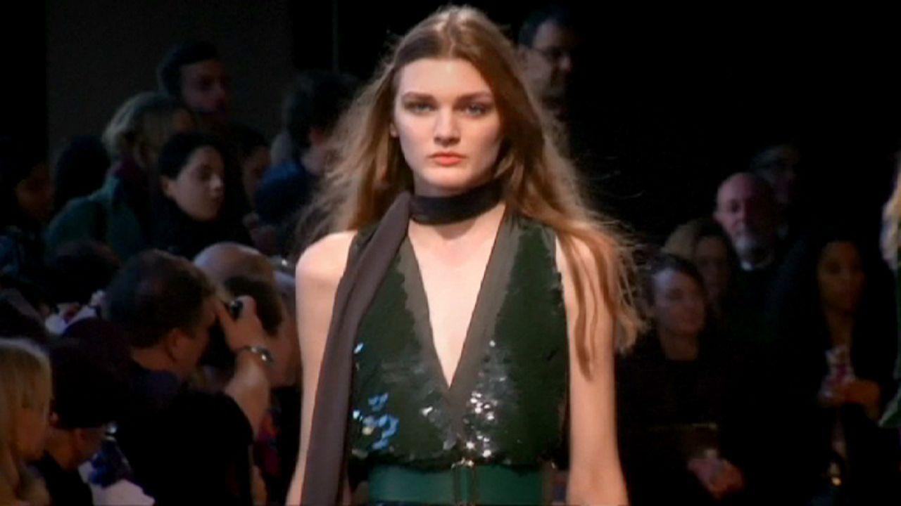 Новая коллекция Rochas на Неделе моды в Париже