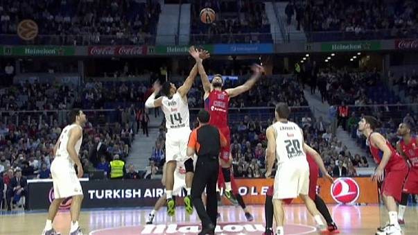 Euroleague: Moskau zwingt Madrid in die Knie