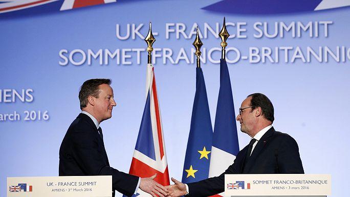 François Hollande y David Cameron aumentan la cooperación en la lucha contra la inmigración ilegal