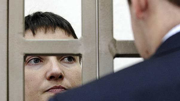 Ukrainian pilot on trial in Russia starts dry hunger strike