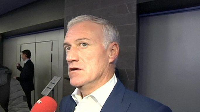 """Stades vides à l'Euro: """"Aucune chance"""" d'après Deschamps"""