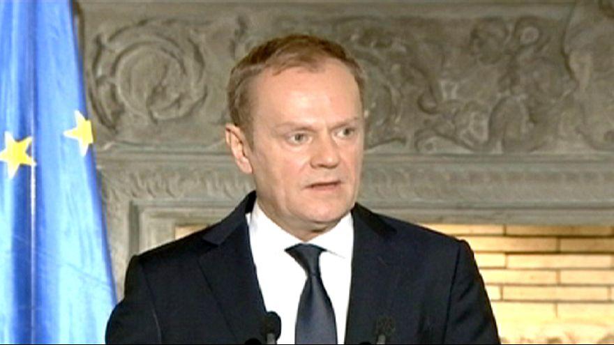 Туск призвал не ехать в Европу экономических мигрантов