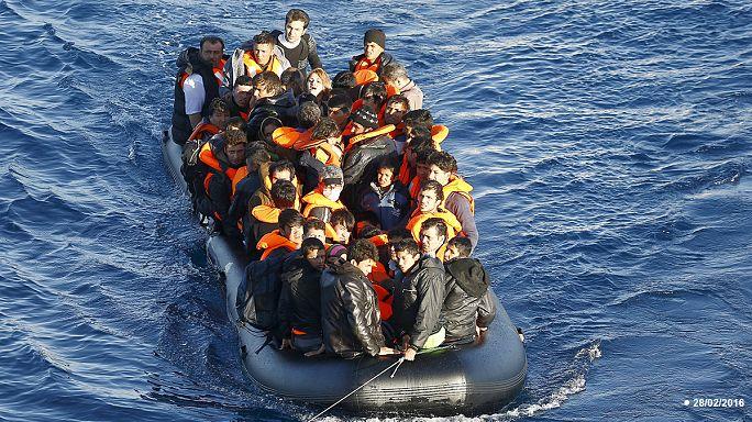 La mer Egée, la porte de l'Europe pour les réfugiés venant de Turquie