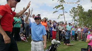 Вудса поразил юный гольфист