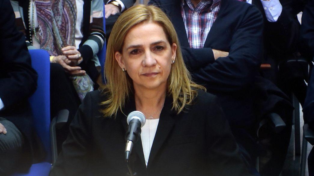 Spagna: processo Noos, Infanta non risponde alle domande dell'accusa