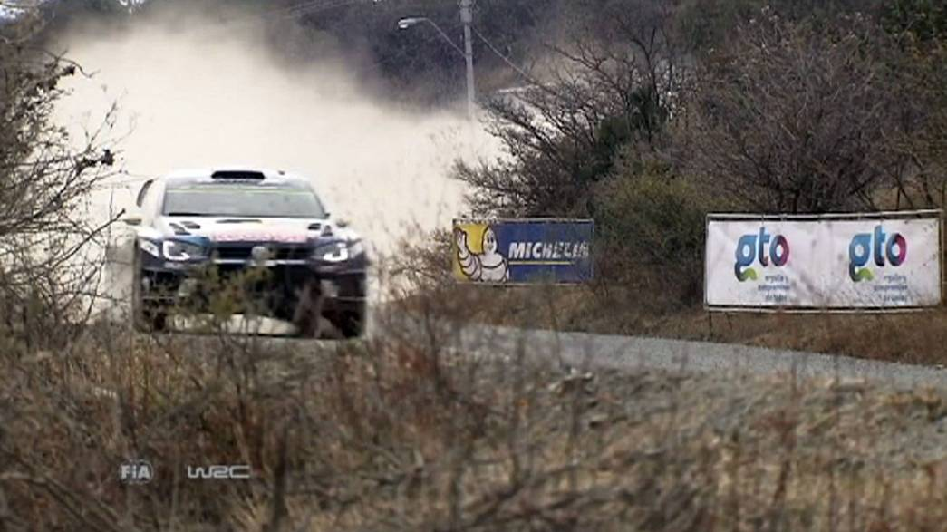 Mikkelsen tops timesheets after Rally Mexico shakedown
