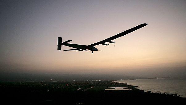 Solar Impulse undergoes test flight to continue its global journey