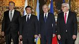 París y Berlín no consiguen compromisos de paz entre Kiev y Moscú