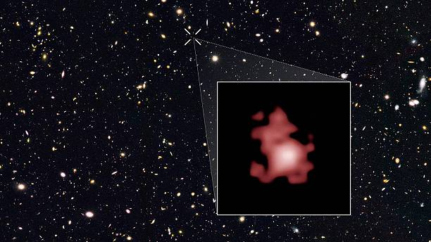 Most distant galaxy ever seen - 13.4 billion light years away
