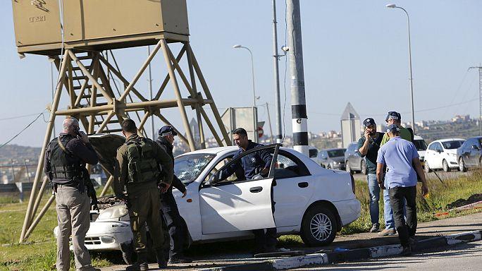 Izraeli katonát gázolt egy palesztin nő