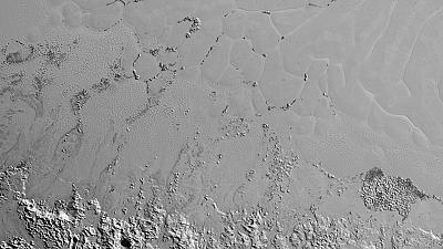 NASA releases image of Pluto's own 'Himalayas'