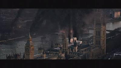 London is smashing in the high-octane action film London Has Fallen