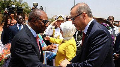 La Guinée signe plusieurs contrats avec la Turquie