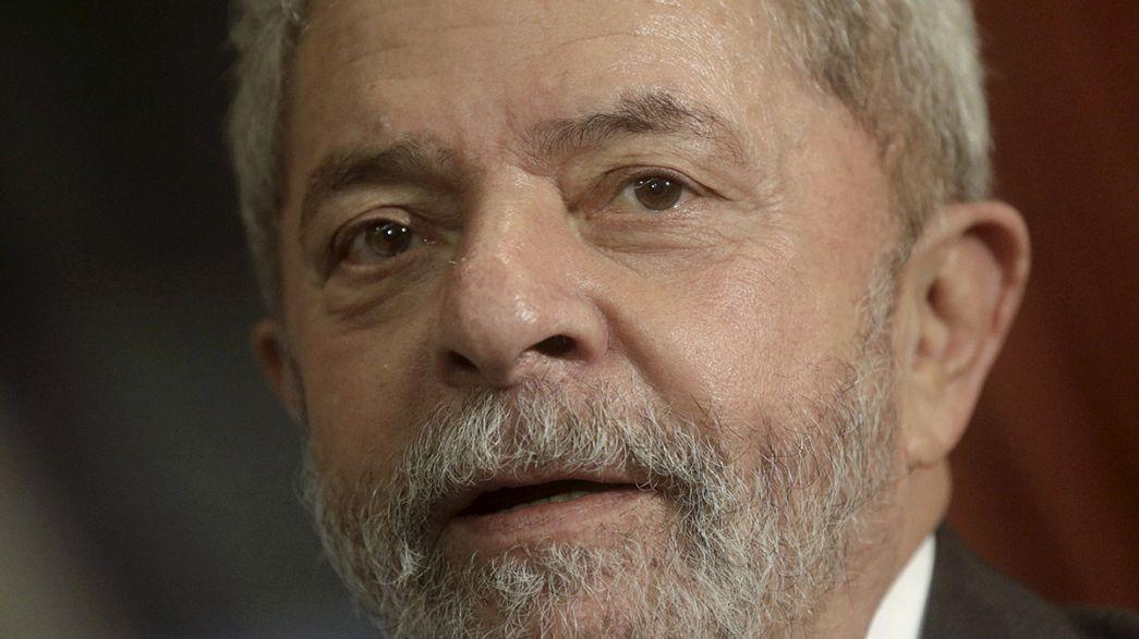 Lula interrogado por las autoridades brasileñas en el caso de corrupción de Petrobras