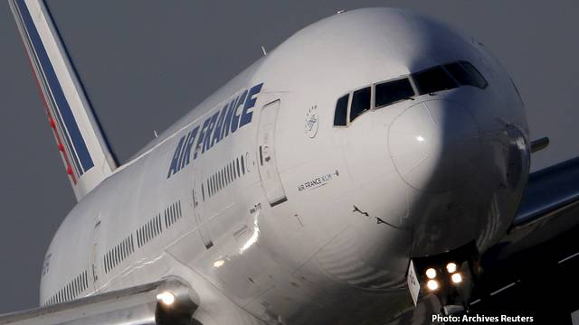 Air France plane narrowly avoids collision with drone