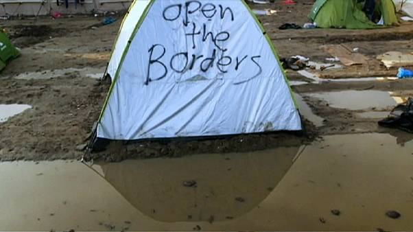 Grèce/crise migratoire : les conditions sanitaires empirent au camp d'Idomeni