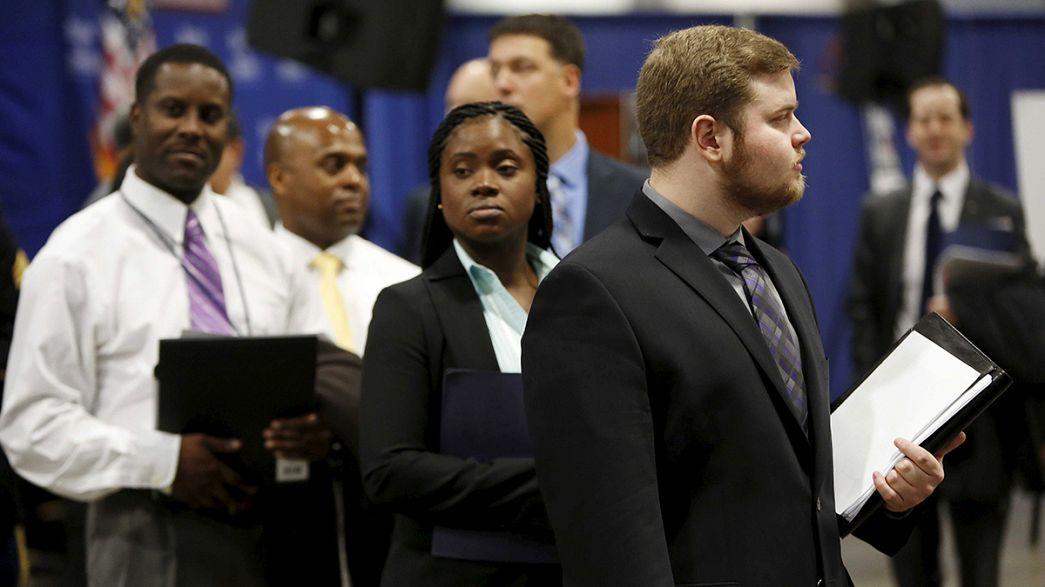 EUA criam 242 mil novos postos de trabalho em fevereiro