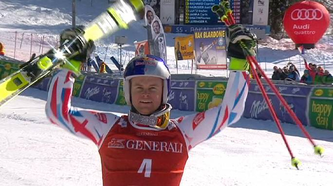Flying Frenchman Pinturault wins 4th straight Giant Slalom