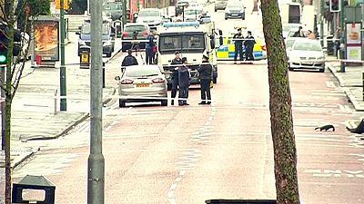 Belfast police warn of further attacks after bomb blast injures prison officer